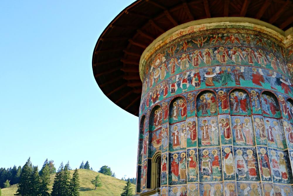 Pinturas de los monasterios de Rumanía