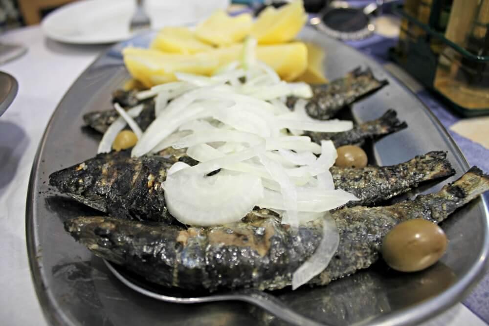 Sardinas en Casa Dias en Oporto