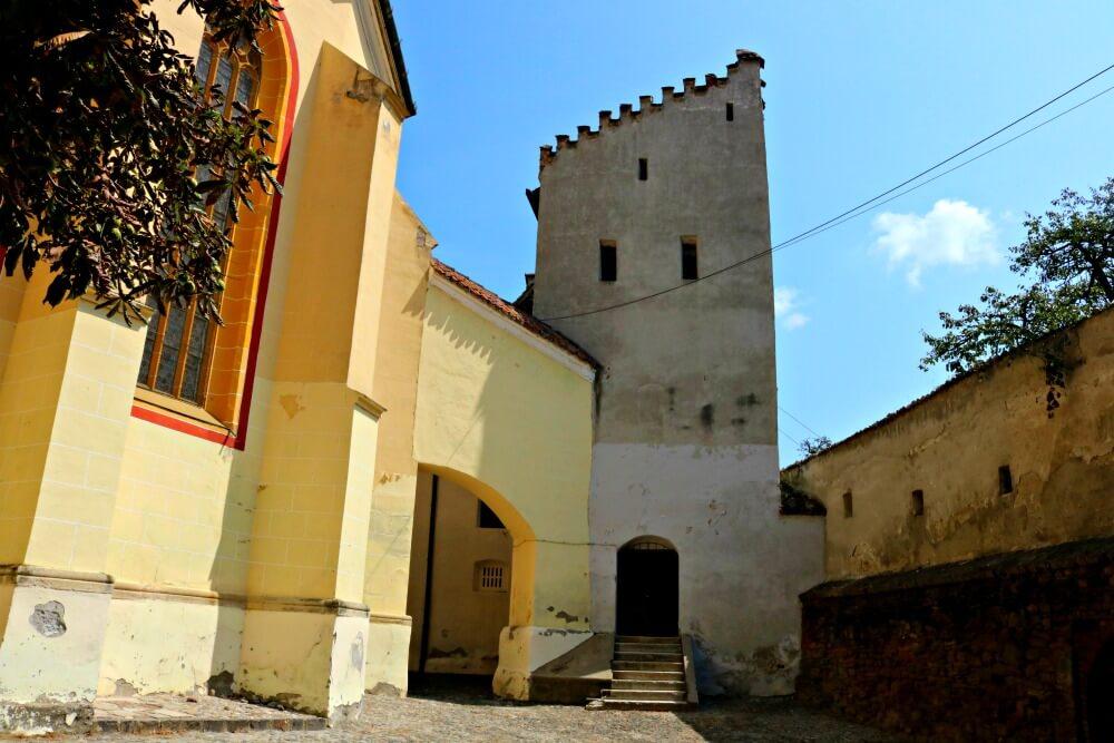 Torre de Medias en la que fue preso Vlad Tepes