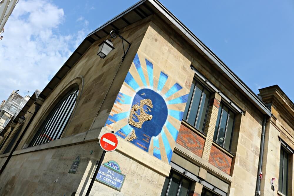 Arte urbano en Le Marais