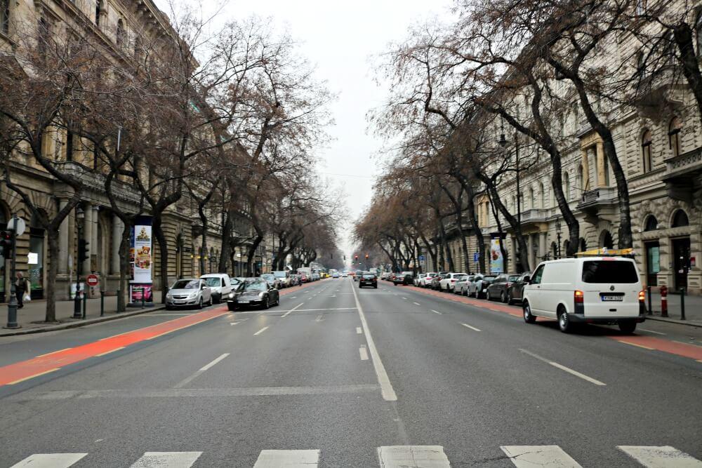 Avenida Andrássy de Budapest