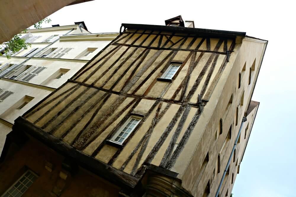 Casas entramadas de París