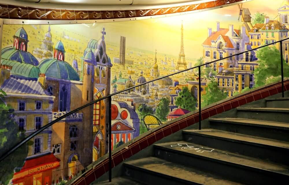 Estación de metro de Abbeses en París