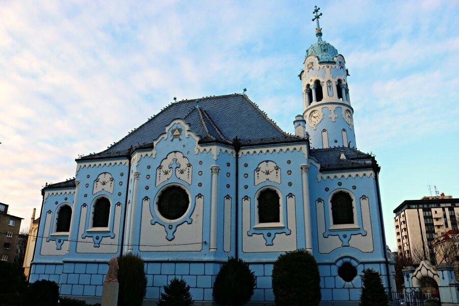 Iglesia Azul de Eslovaquia