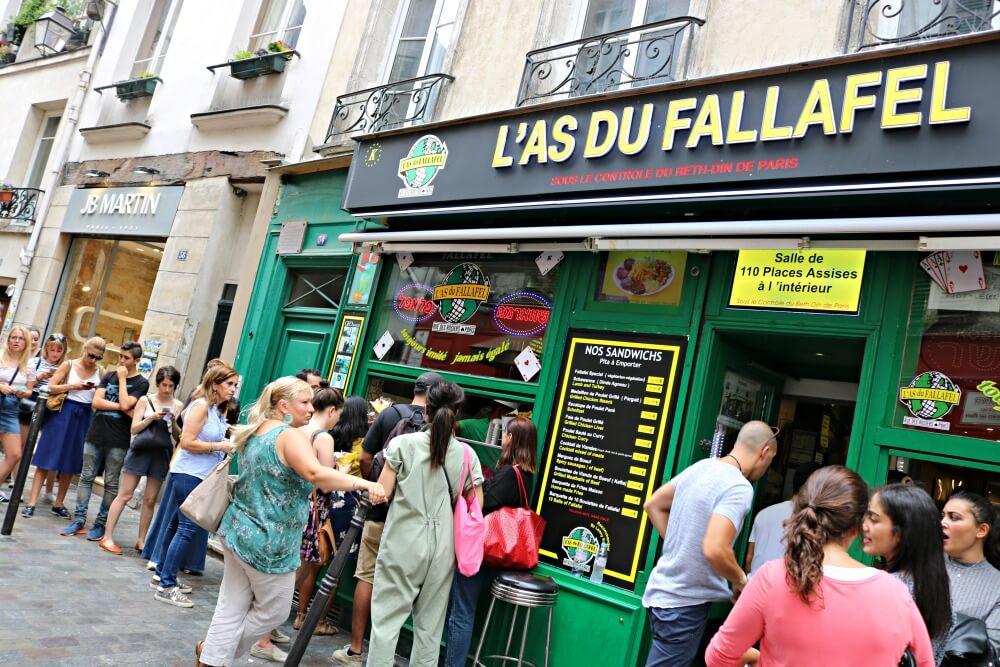 L'as du fallafel, Le Marais, París