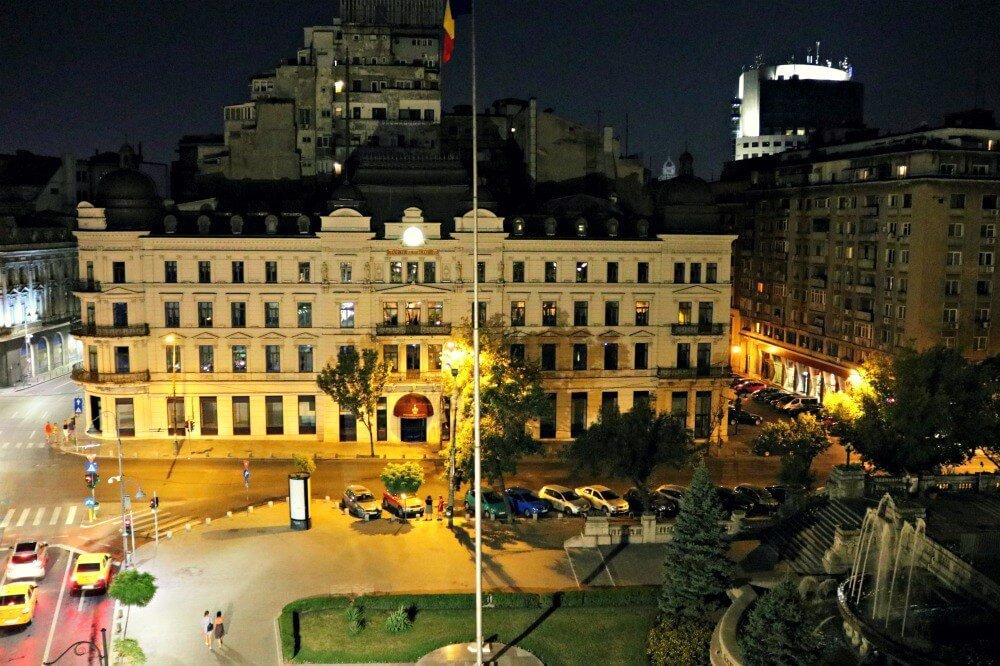 Nuestras vistas desde el Hotel Capitol de Bucarest
