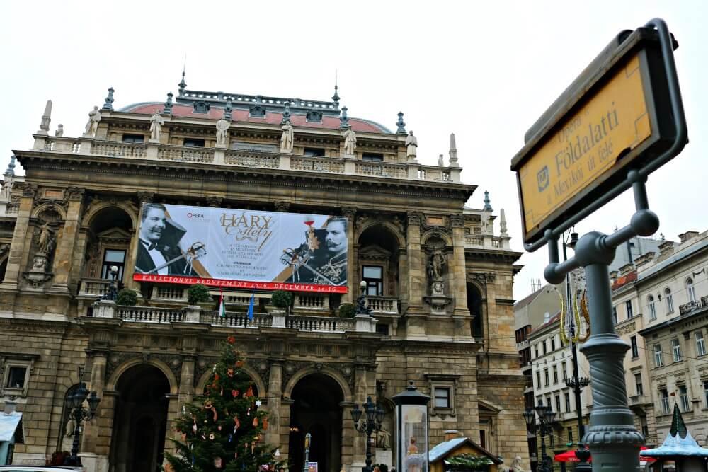 Ópera - Qué ver en Budapest
