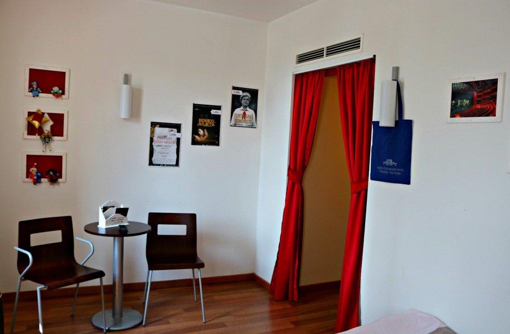 Salita de la habitación del hotel ibis Sibiu
