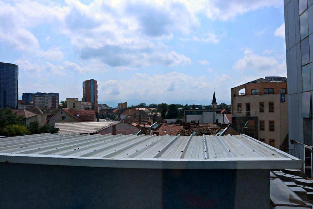 Vistas desde mi habitación en Sibiu