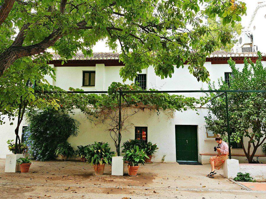 El refugio de Lorca en Granada