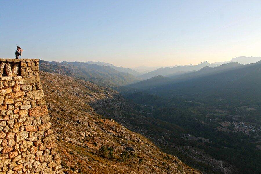 Entrando en las Sierras de Cazorla, Segura y las Villas desde el Mirador de las Palomas