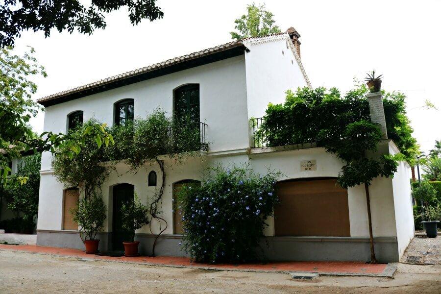 La casa veraniega de García Lorca en Granada