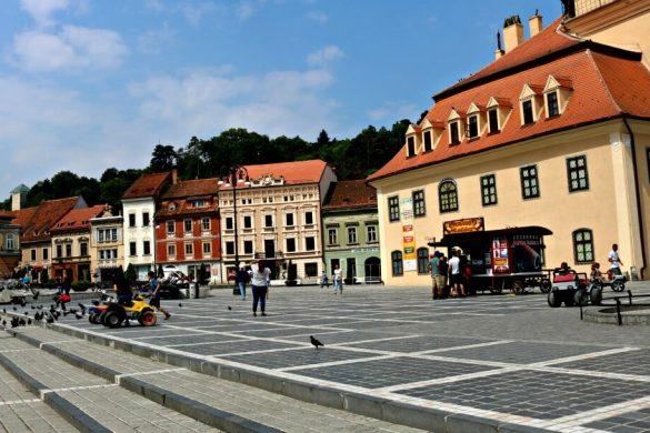 Plaza principal de Brasov