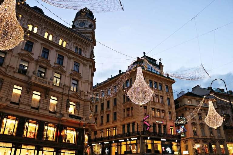 Mercadillos de Viena en Navidad