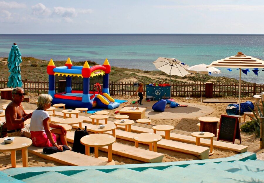 Blue Bar en Formentera