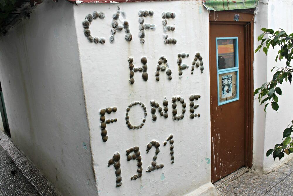 Cafe Hafa Fonde 1921