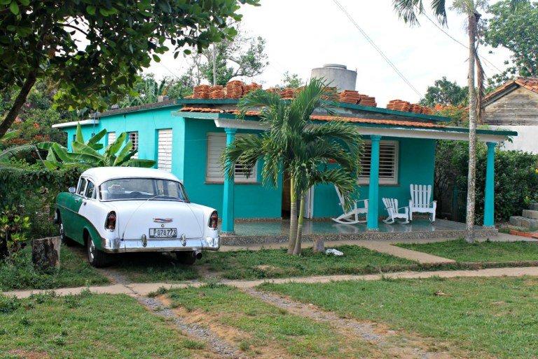 Casas particulaes en Cuba - Viñales