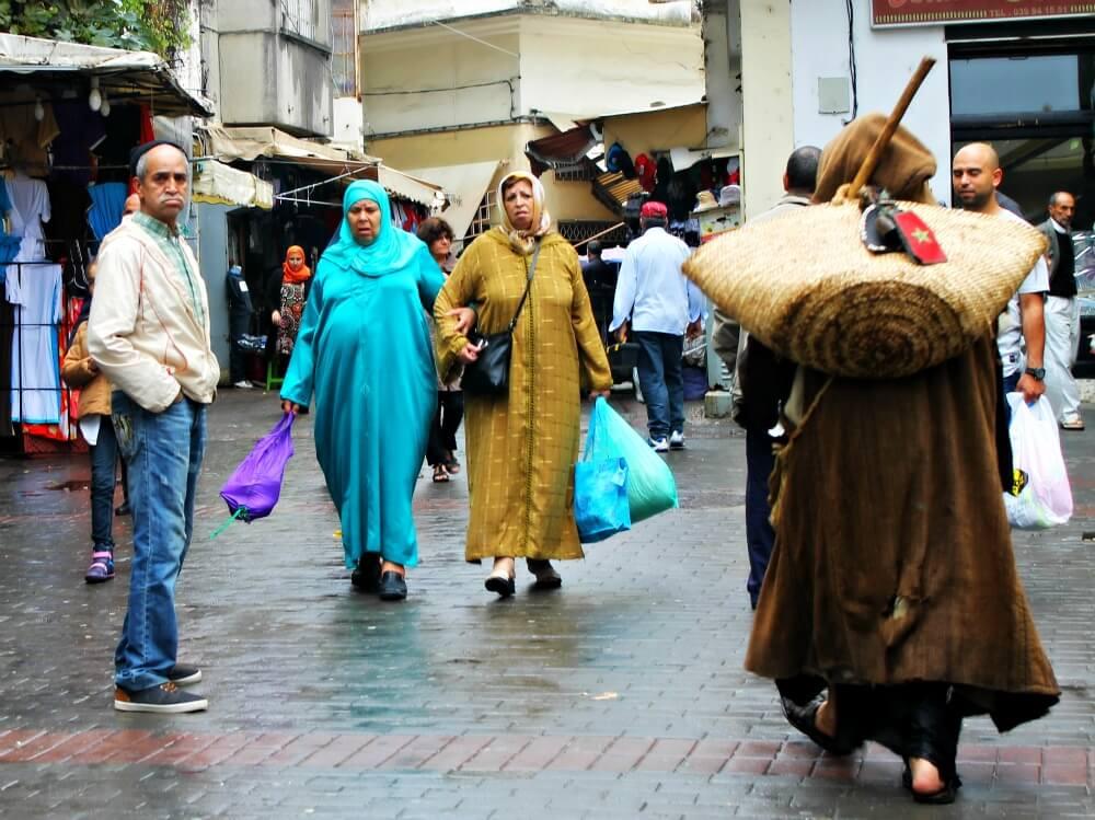 La gente de Tánger