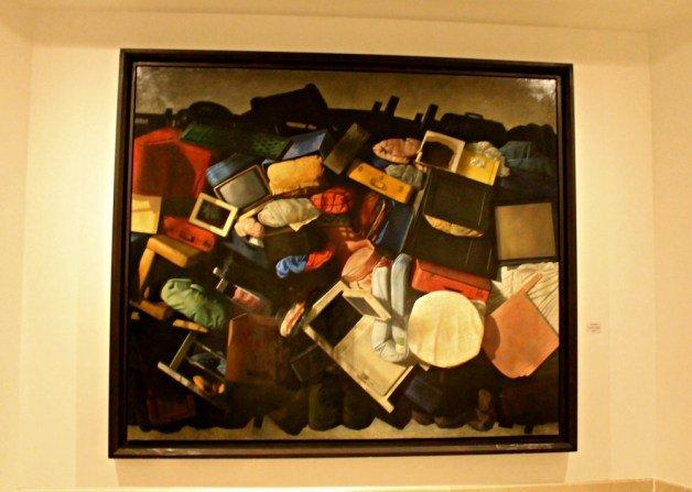 Maletas y más maletas de Cristóbal Toral