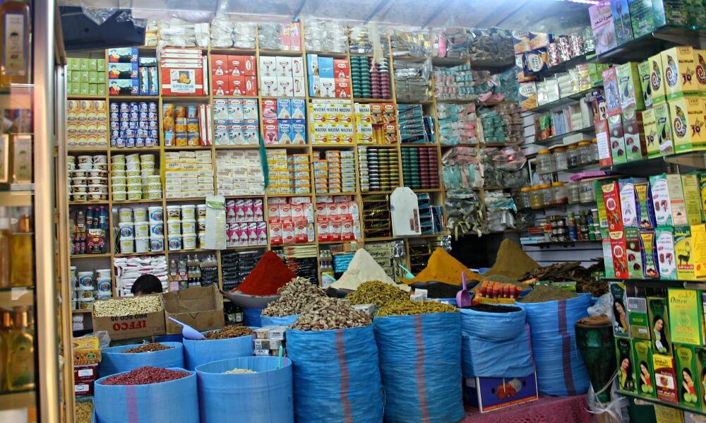 Tiendas que venden de todo en Tánger