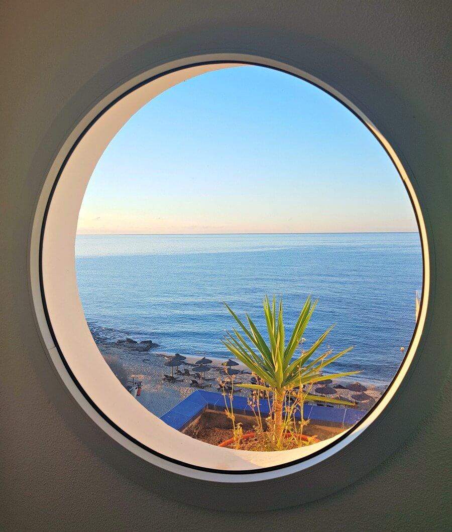 Vistas desde mi hotel en Formentera
