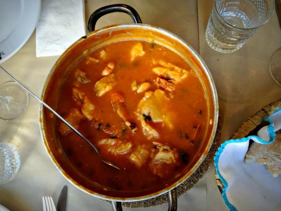 Arroz de tamboril - Gastronomía portuguesa