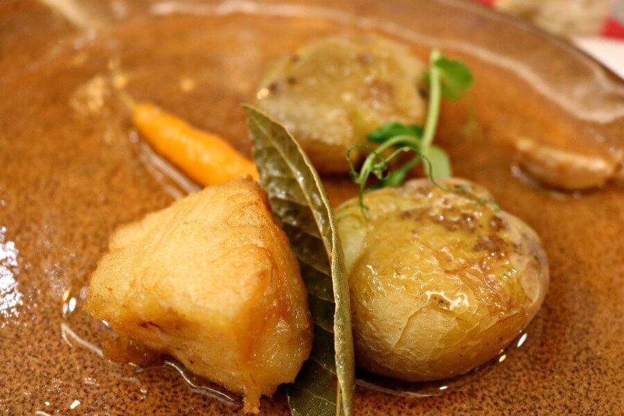 Bacalao confitado en aceite - Gastronomía de Portugal