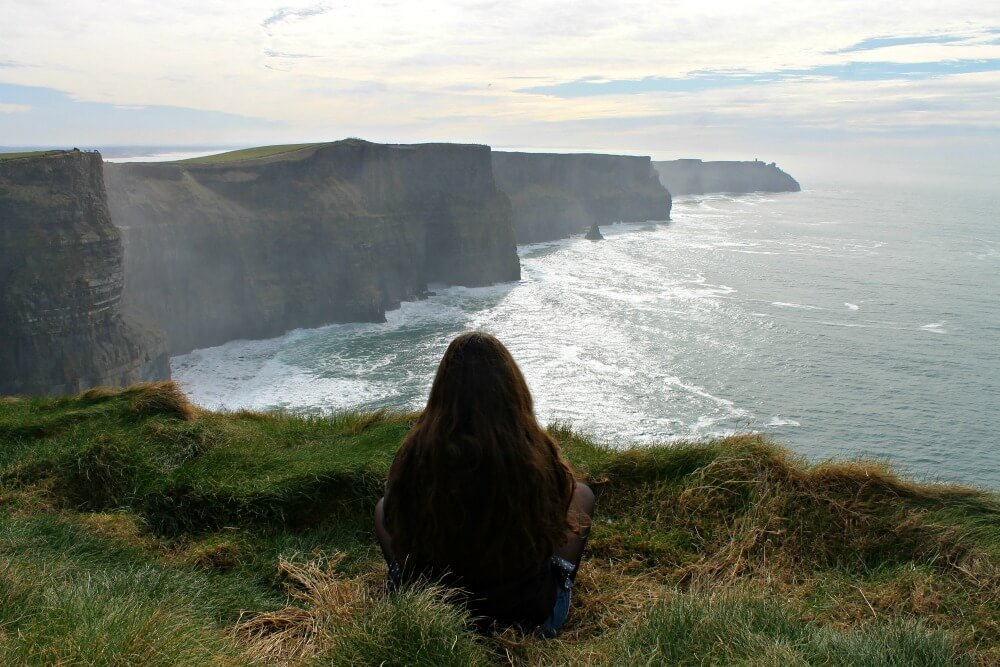 Claudia y los Cliffs de Moher
