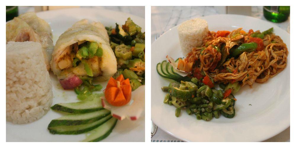 Comida en Paladar Sol Ananda - Comer en Trinidad