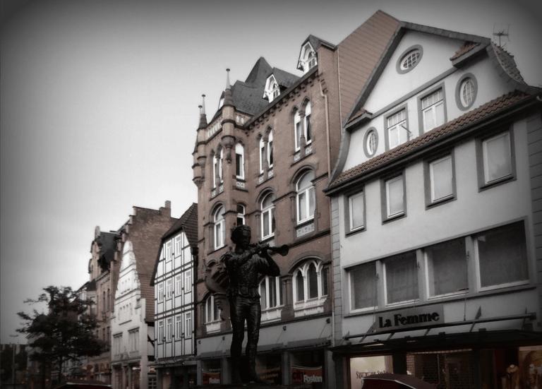 El flautista de Hamelín en Alemania