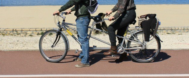 En bicicleta por Francia