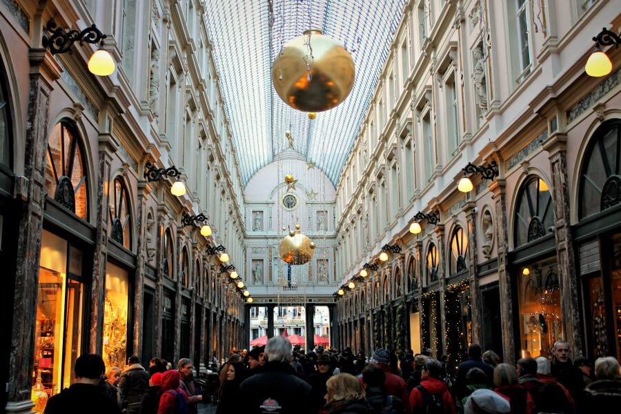 Galería de Saint Hubert en Bruselas