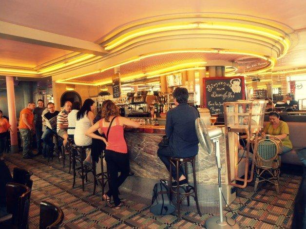 La cafetería de Amelie en París