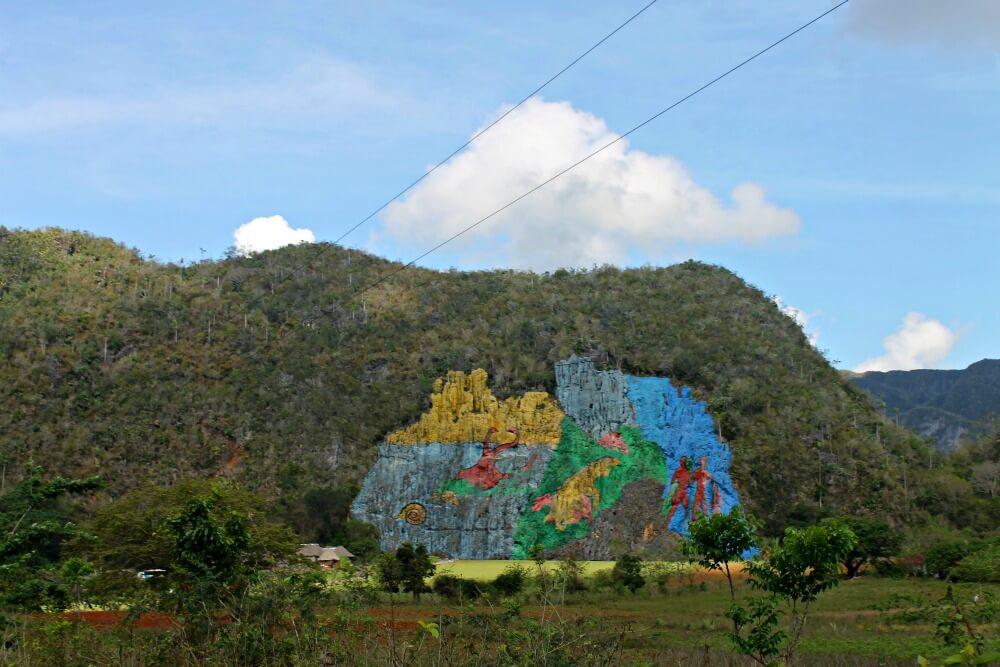 Mural de la Prehistoria - Viñales