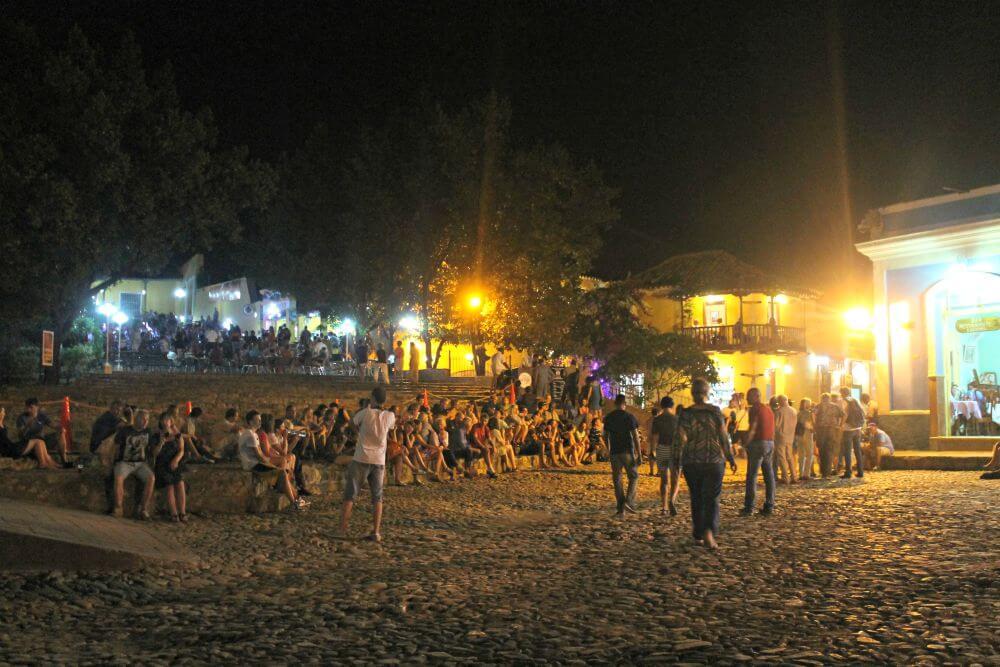 Noche ambientada en Trinidad