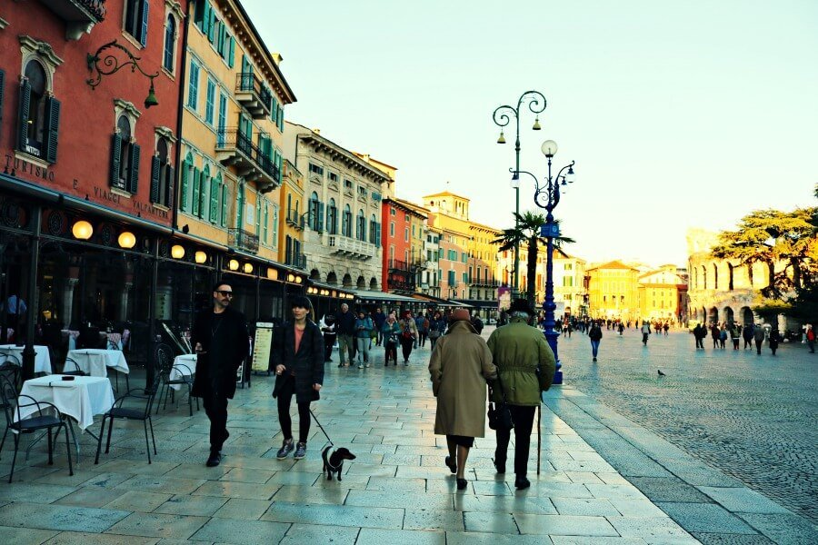 Paseando por Verona