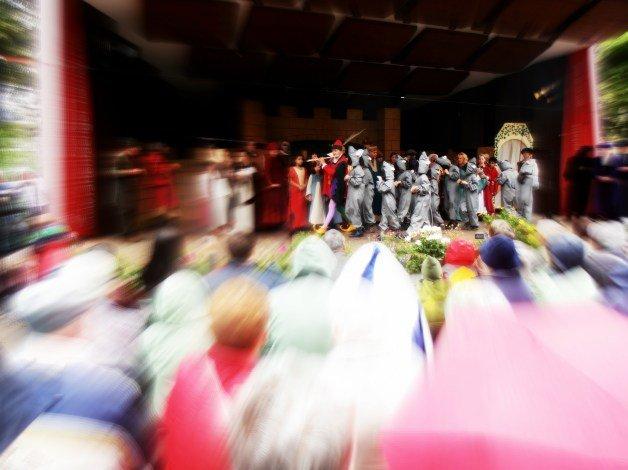 Teatro del Flautista de Hamelín en Alemania