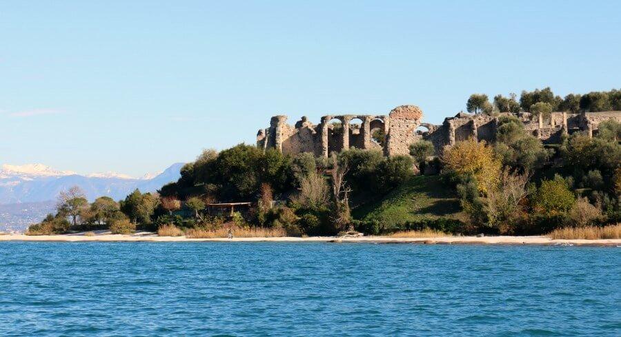 Termas de Catullo en el Lago di Garda