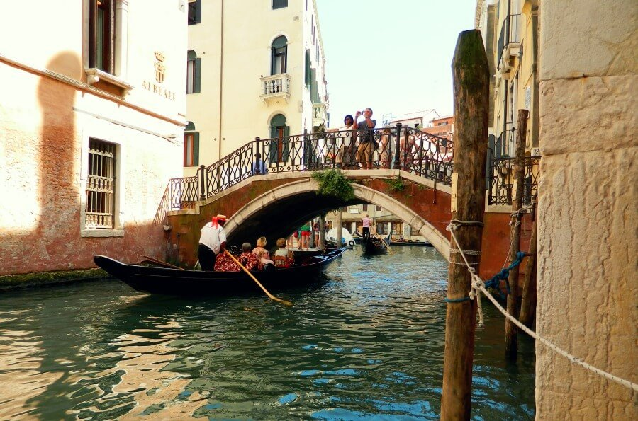 Venecia desde el Lago di Garda - Góndolas