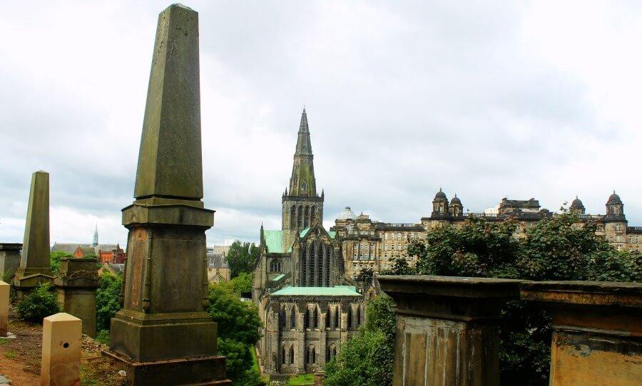 Visitar Glasgow cementerio con vistas