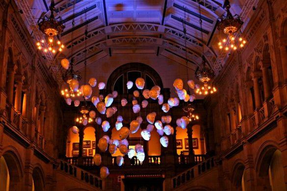 Visitar Glasgow las cabezas de la Galería Kelvingrove