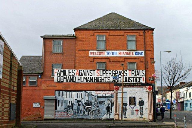 Bienvenido a Shankill Road - La calle de los murales de Belfast