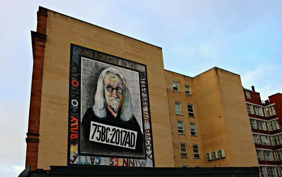 Billy Connolly - Ruta por los graffitis de Glasgow