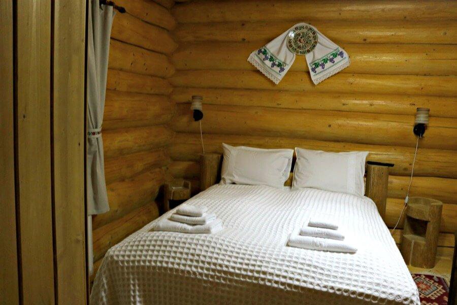 Cabañas de madera en Moisiei Rumanía