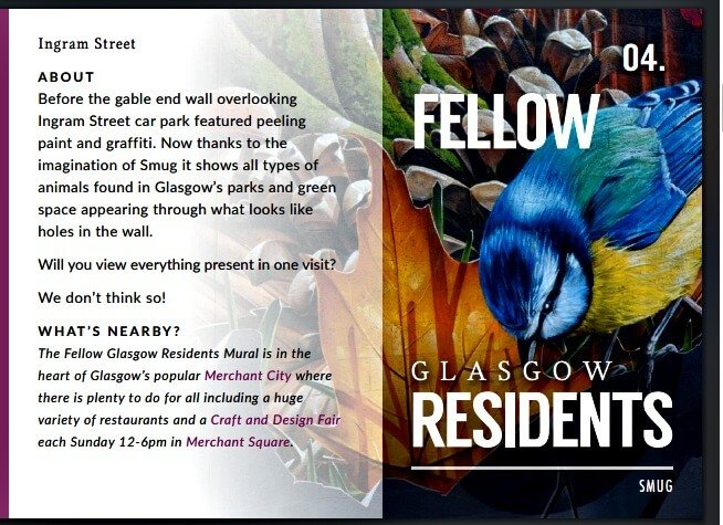Fellow Glasgow Residents - Ruta por los murales de Glasgow