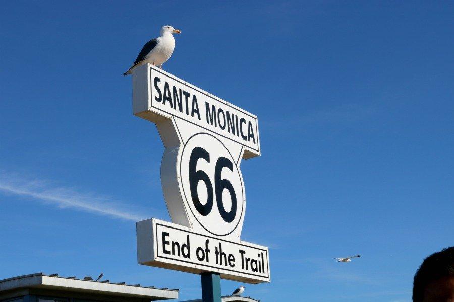 Fin de la Ruta 66 Santa Mónica