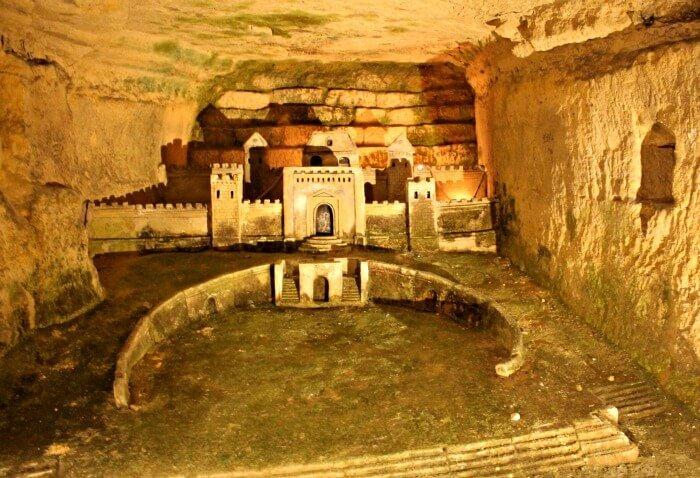 Fortaleza de Mahón, donde estuvo preso uno de los canteros