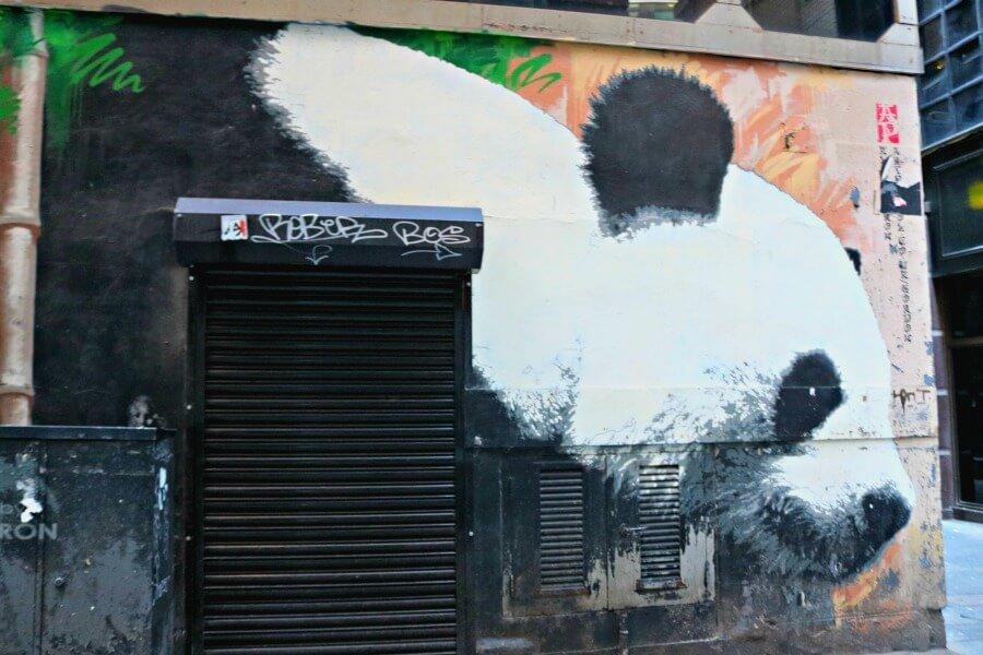 Glasgow's Panda - Ruta por el street art de Glasgow
