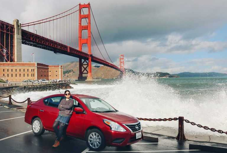 Golden Gate desde mi coche