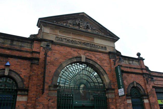 Mercado de San Jorge en Belfast